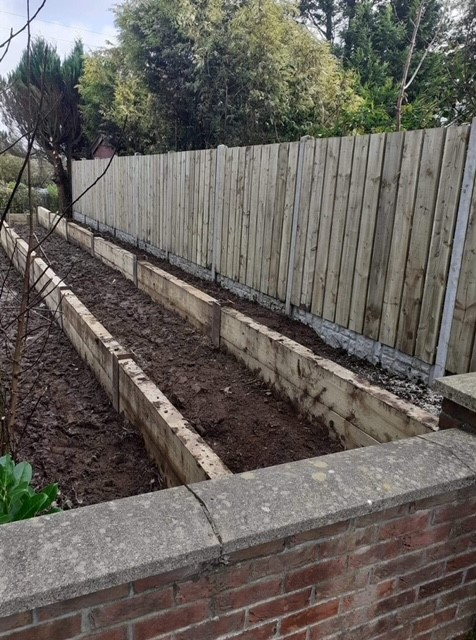 New border and fencing