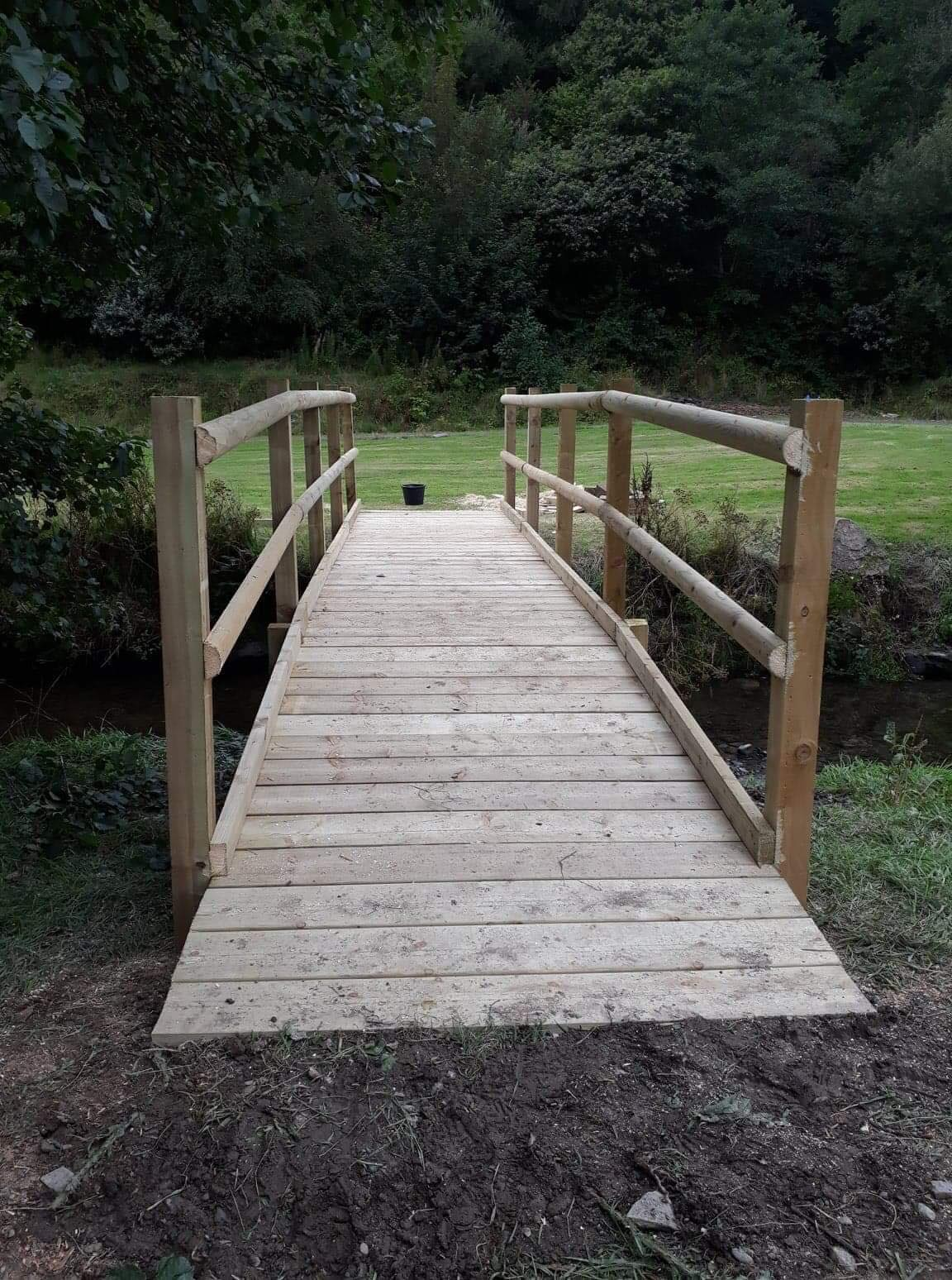 West Wales Panels and Groundworks bridge building